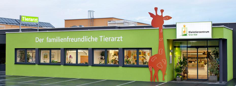 Die Ordination des familienfreundlichen Tierarztes - Kleintierzentrum Graz Süd