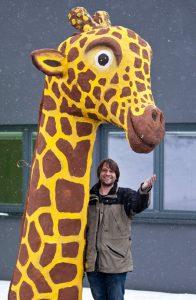 Gib der Giraffe Zucker?