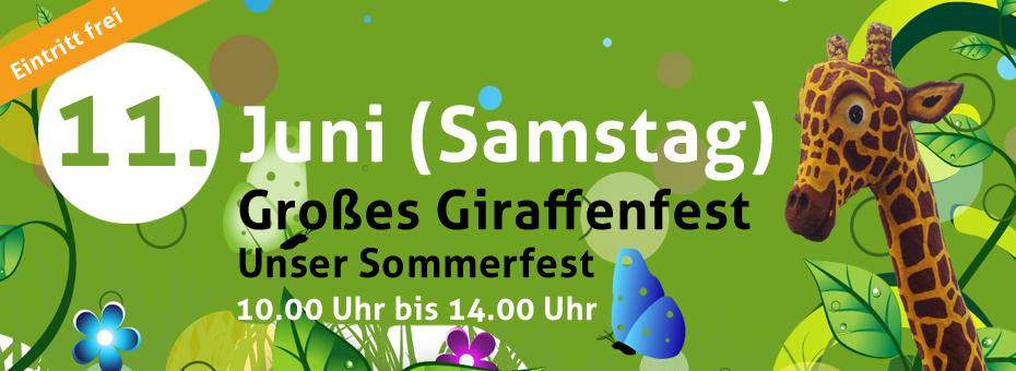 Giraffenfest 11.6.2016