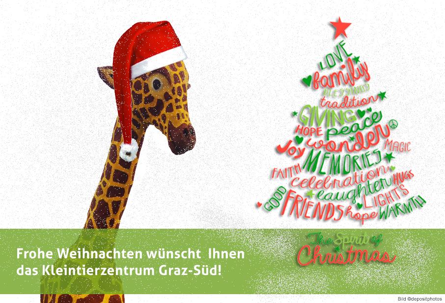 Weihnachtskarte 2016 Kleintierzentrum