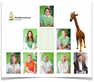Teambild Kleintierzentrum mit freier Stelle für neue MitarbeiterIn